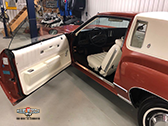 1975 Chevrolet Monte Carlo - Brown Exterior with White interior
